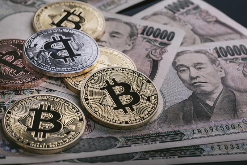 仮想通貨と一万円札